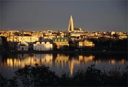 レイキャヴィークの景観