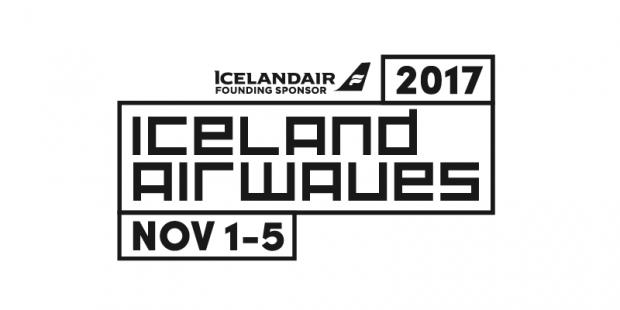 アイスランドエアヴェイヴス2017のロゴ